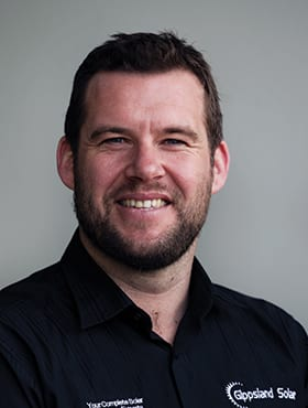 Gippsland Solar - managing director and founder - Andy McCarthy