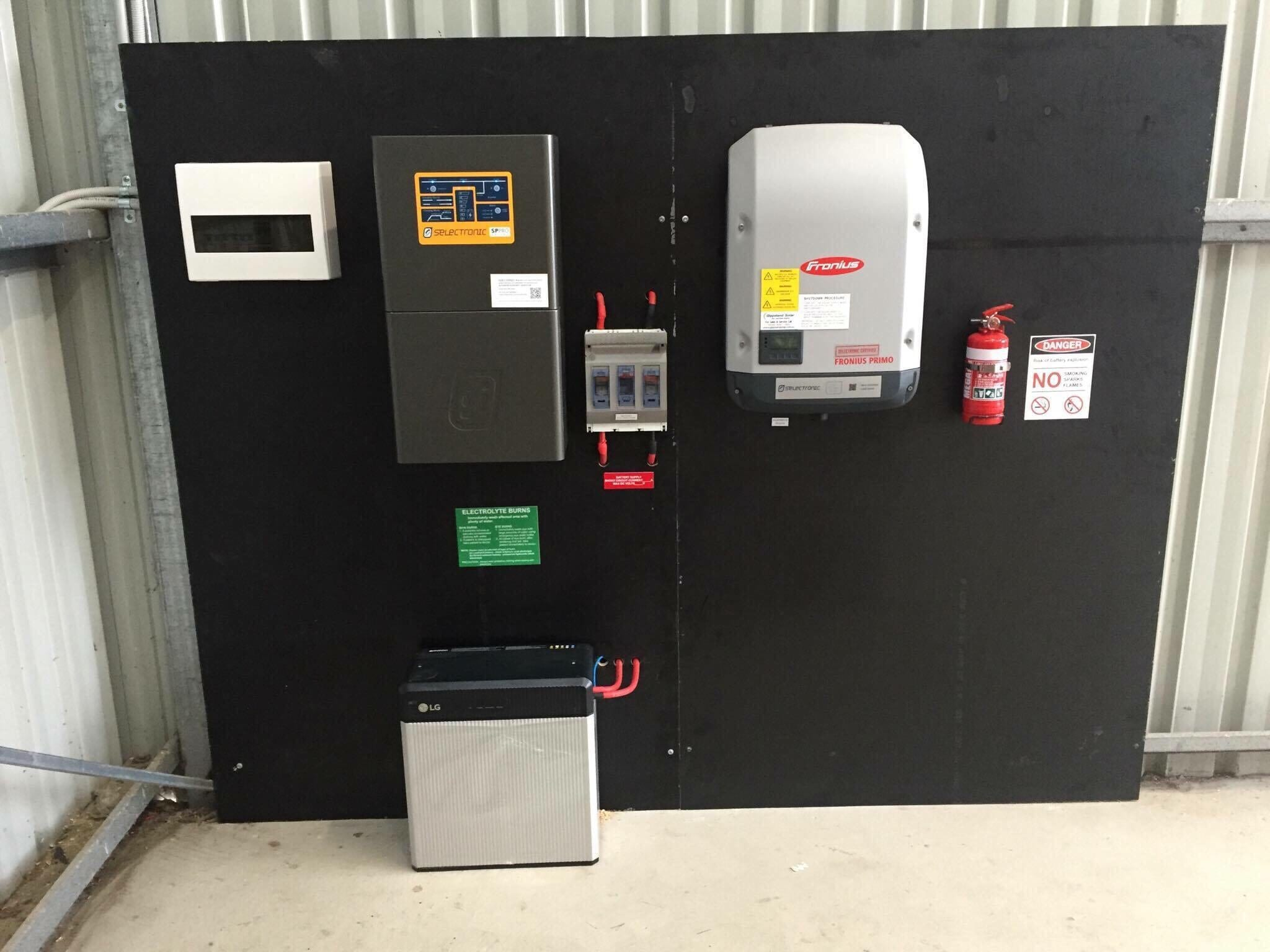 Selectronic-SP-Pro - Solar Hybrid with Off-Grid Backup