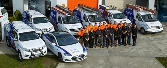 Gippsland Solar staff based in tralagon